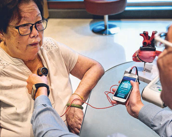 Home-use device can alert patients to potential heart failure